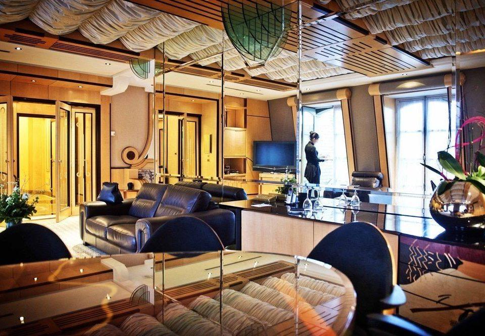 property home living room Resort Suite Villa cluttered
