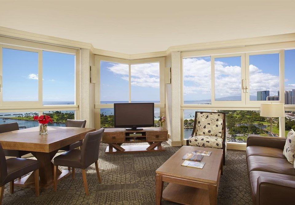 Resort property living room Suite home condominium Villa cottage