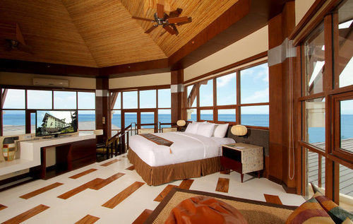 property Resort Villa cottage wooden yacht Suite