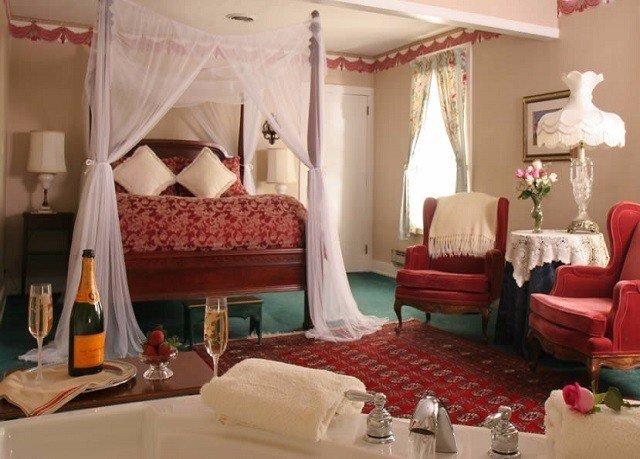 property Suite red living room Resort Villa cottage