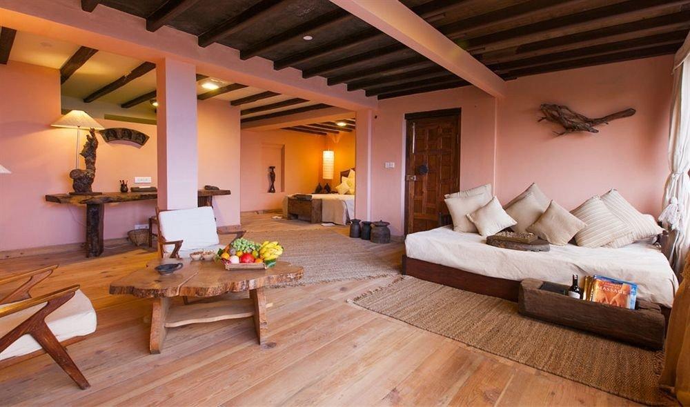 property Villa wooden cottage Resort Suite living room farmhouse