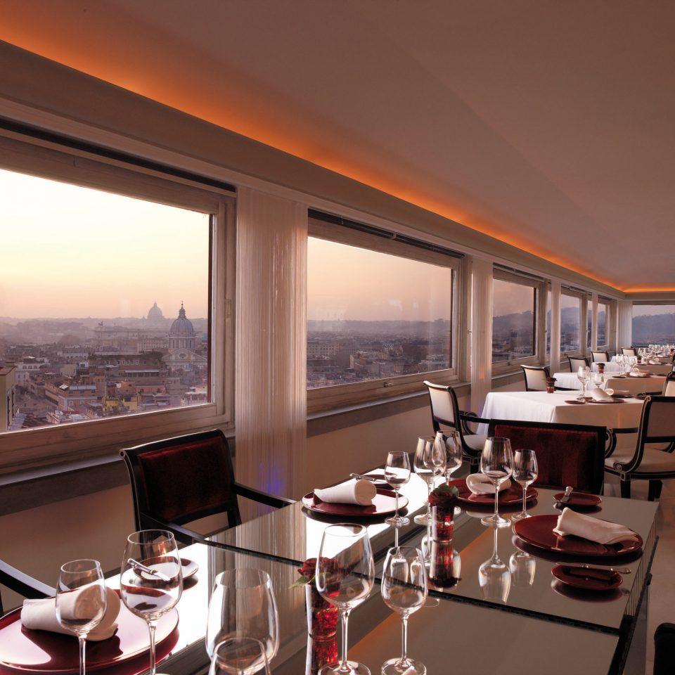 property restaurant Resort Villa Suite set overlooking dining table
