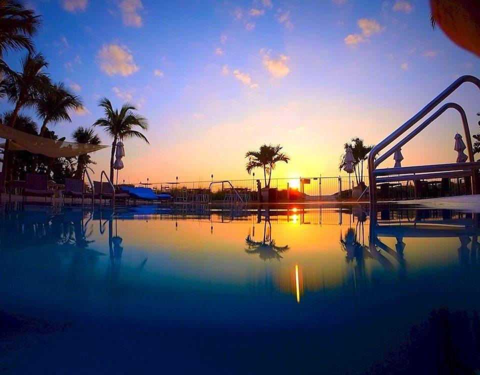 sky water Sunset Sun night evening dusk Resort morning setting light amusement park sunrise dawn