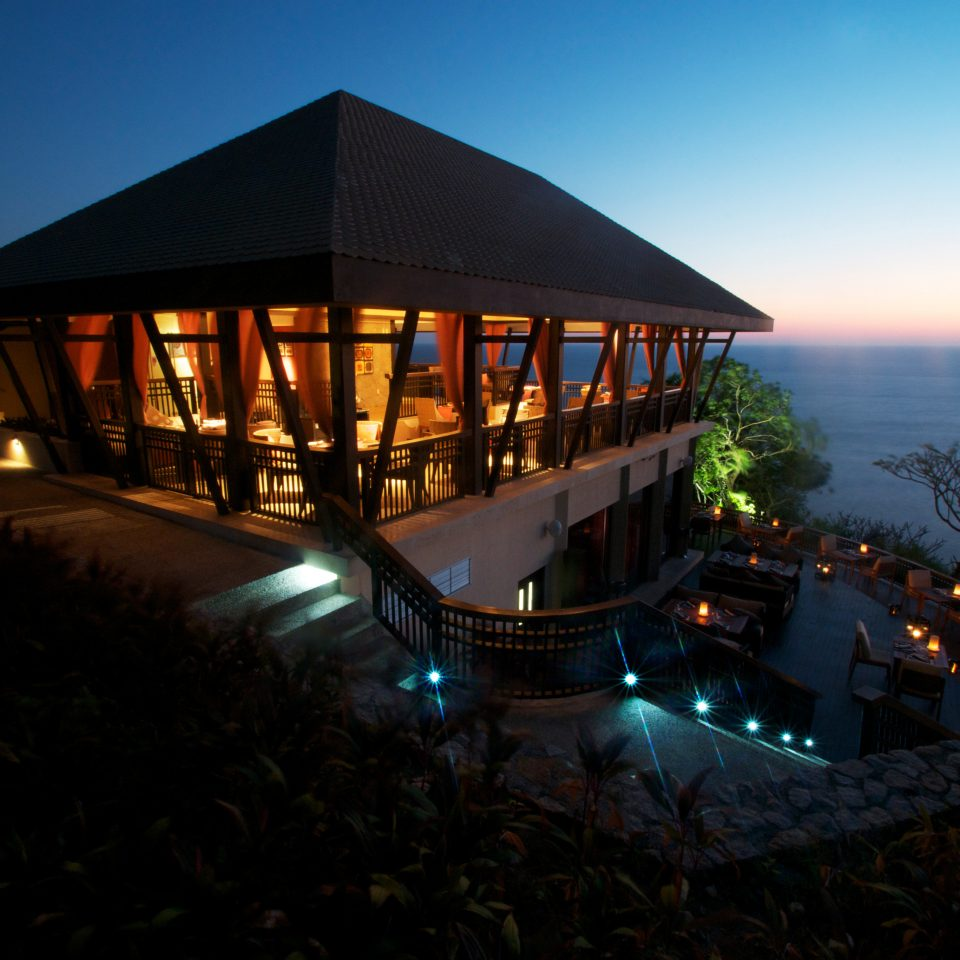 sky night house evening dusk Sunset Resort