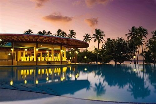 sky swimming pool Resort property Villa Sunset