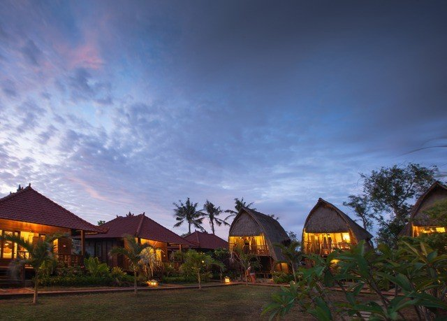 sky house evening rural area Resort yellow dusk Village Sunset