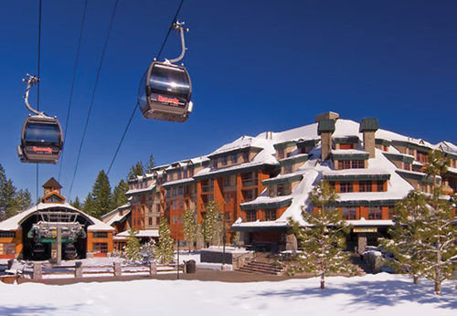 sky snow Town Resort residential area cable car
