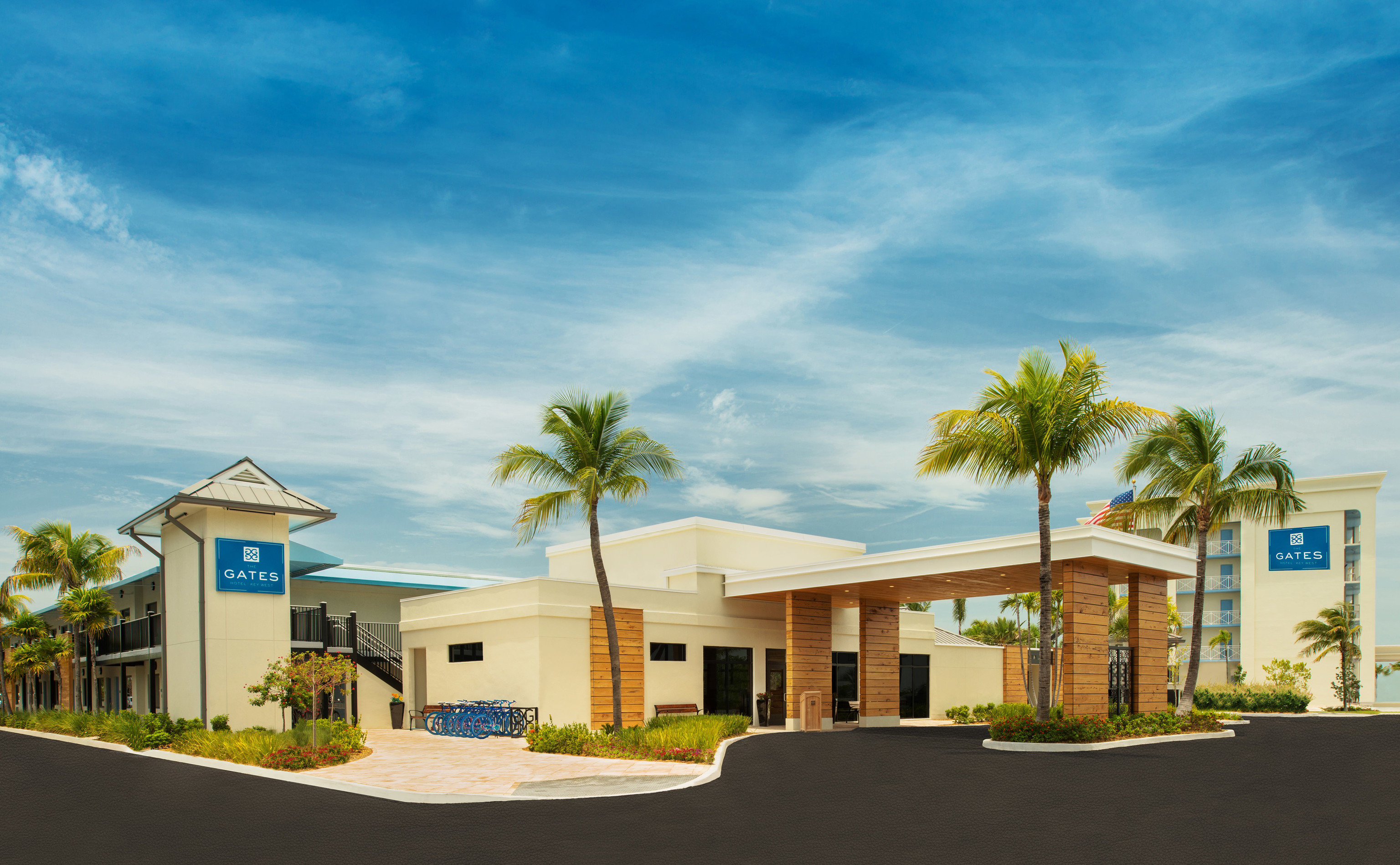 sky property residential area house home neighbourhood suburb condominium Resort sign Town