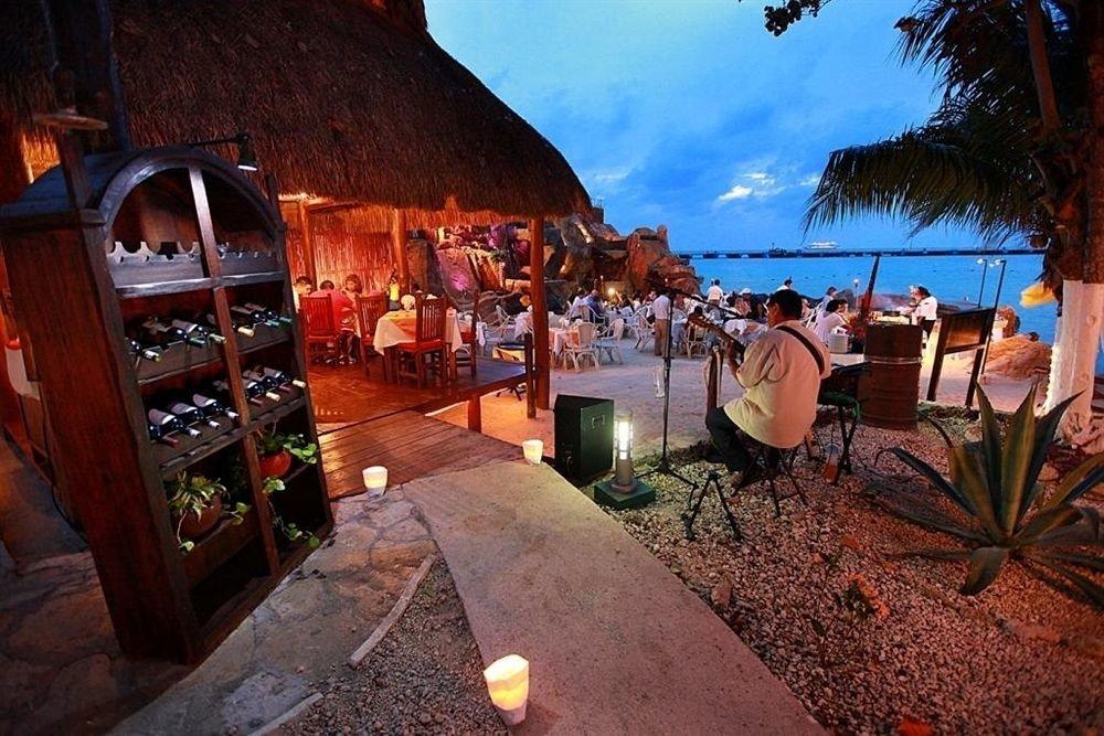 Town restaurant evening Resort screenshot travel