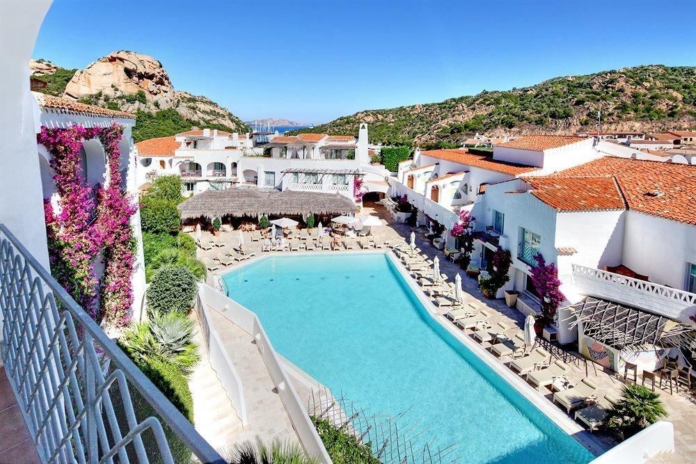 sky leisure property swimming pool Town Resort Villa Village ramp mansion cement