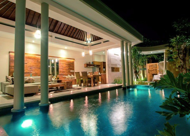 property swimming pool Resort home lighting Villa leisure resort town house hacienda amenity landscape lighting
