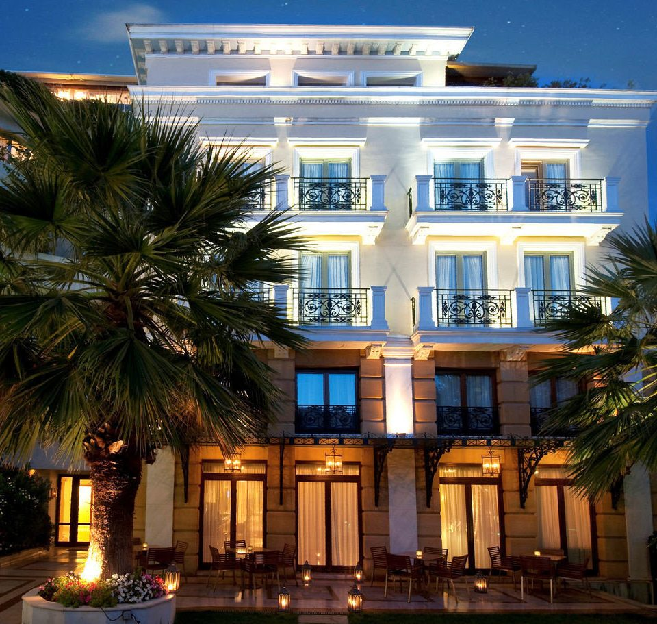 property building Resort house condominium home mansion palace Villa apartment building palm