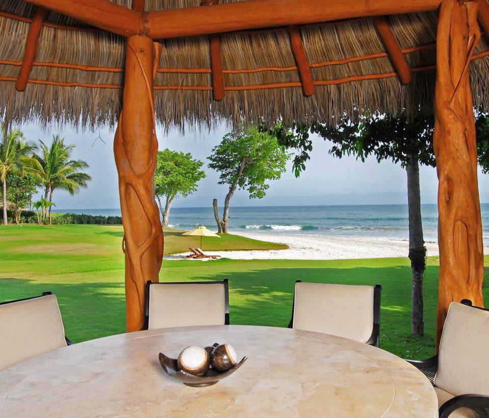 tree grass leisure property Resort swimming pool home house Villa arecales backyard hacienda overlooking