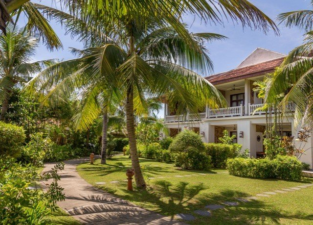 tree grass plant palm property Resort house arecales home palm family Villa eco hotel caribbean residential