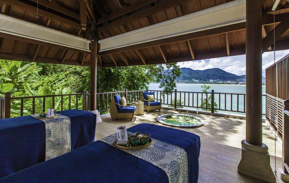 property Resort Villa home cottage mansion swimming pool eco hotel backyard blue