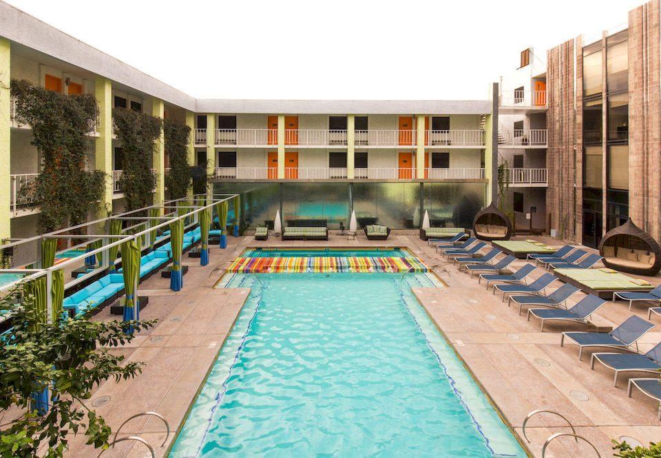 building swimming pool condominium leisure property Resort leisure centre mansion Villa backyard
