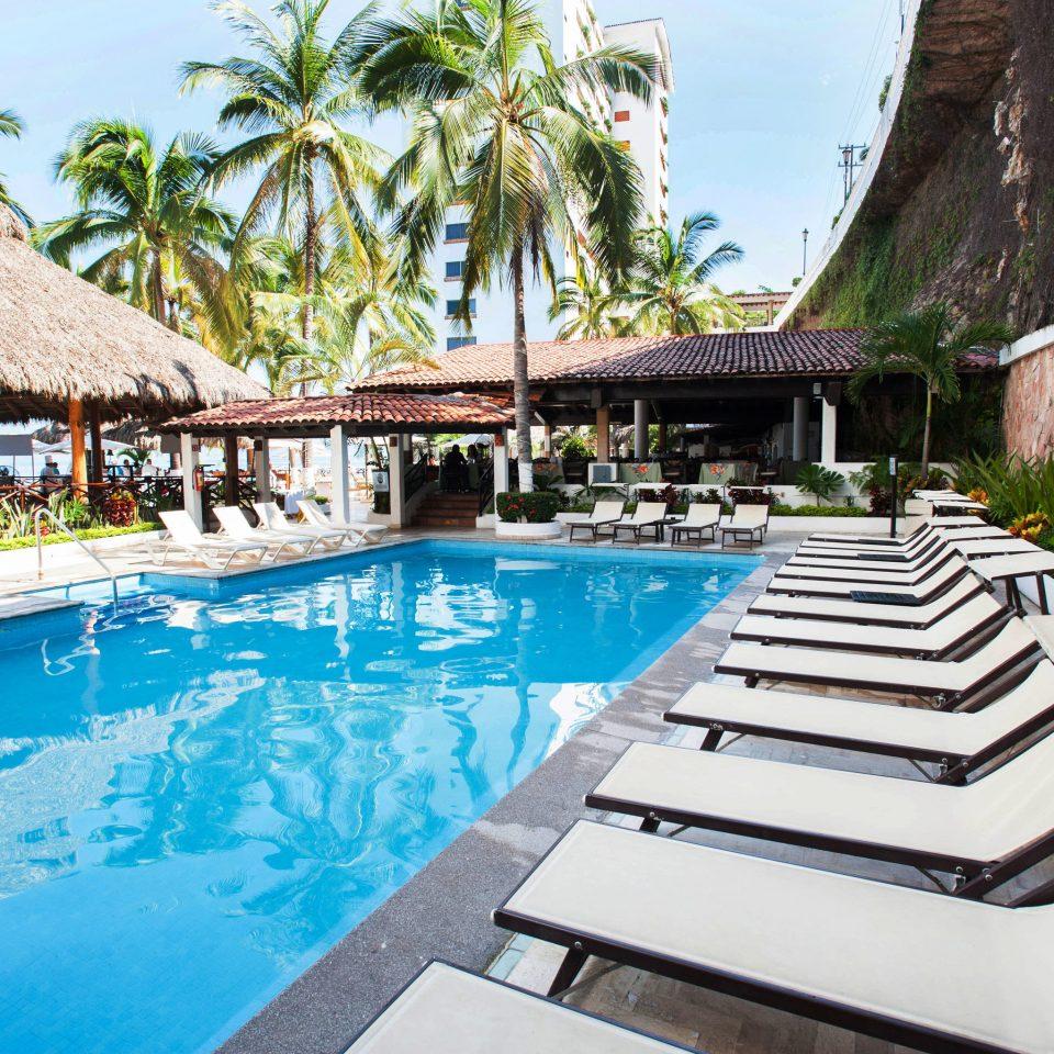 tree swimming pool leisure building property Resort Villa backyard