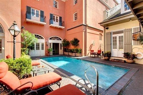 building property swimming pool condominium Villa Resort leisure mansion home hacienda backyard cottage