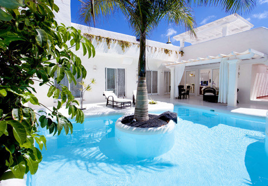 tree swimming pool property leisure Resort Villa caribbean backyard mansion