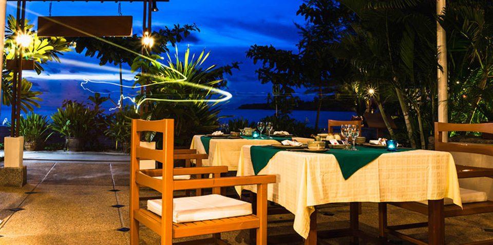 tree chair restaurant Resort home lighting light backyard Villa
