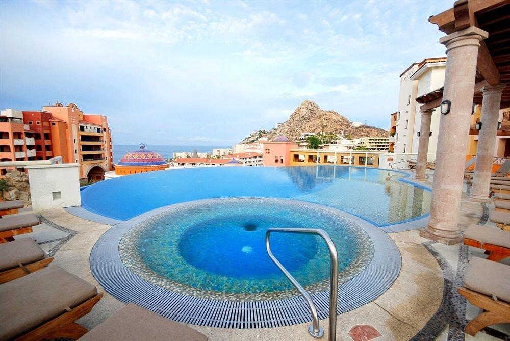 sky swimming pool chair property leisure Resort Villa condominium mansion backyard