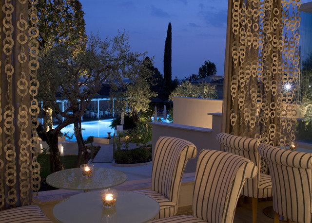 chair property Resort restaurant lighting home Villa backyard landscape lighting mansion