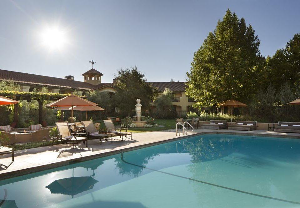 sky swimming pool property Villa Resort condominium backyard home reef swimming