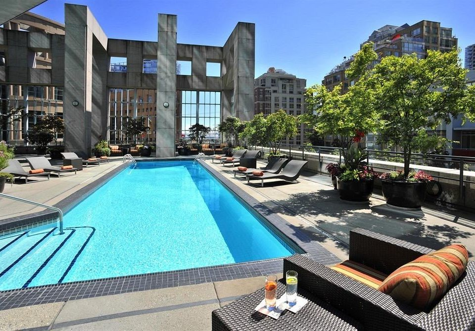 condominium leisure property swimming pool plaza Resort Villa backyard