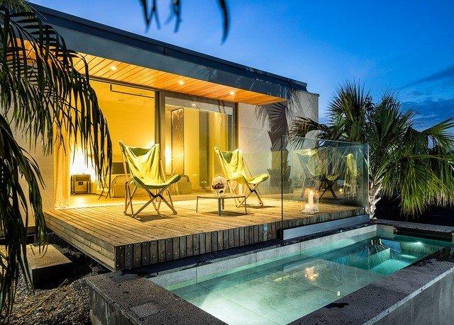swimming pool property Villa leisure Resort home mansion condominium backyard eco hotel