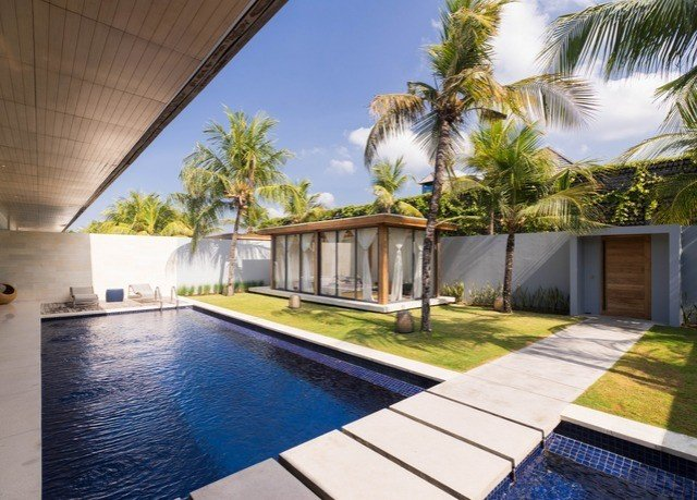 swimming pool property condominium leisure Resort Villa home mansion backyard