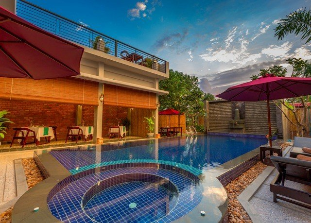 swimming pool property leisure Resort Villa backyard condominium eco hotel
