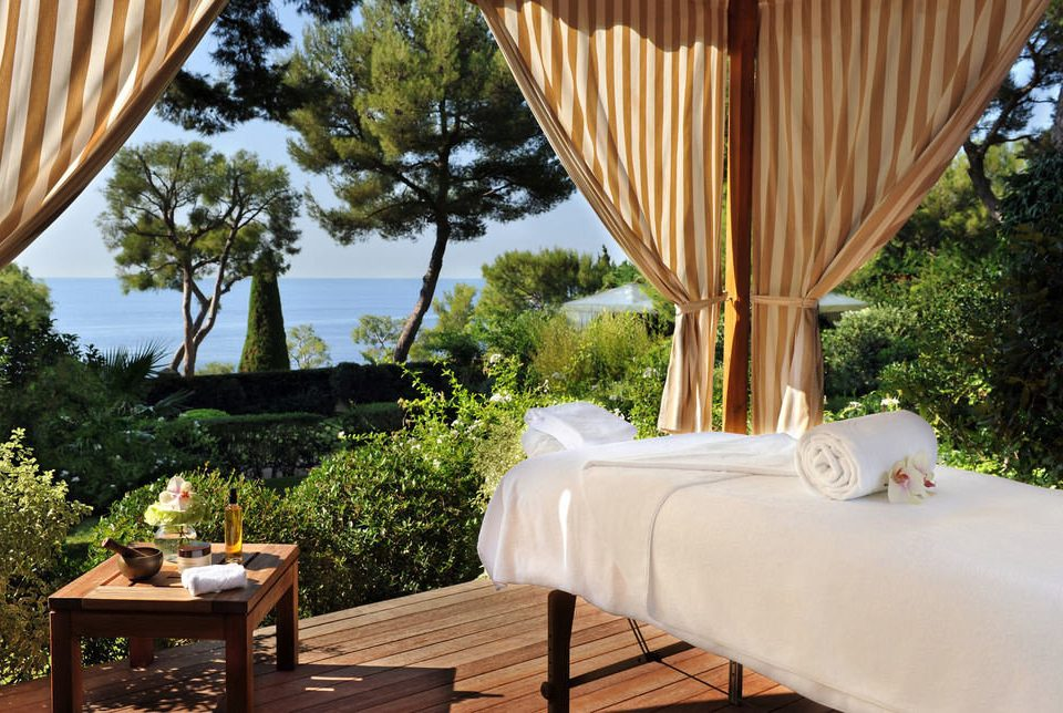 tree Resort Villa curtain backyard cottage