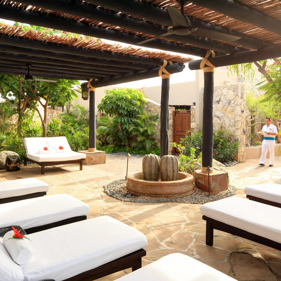 tree property Resort Villa swimming pool home living room outdoor structure eco hotel cottage backyard