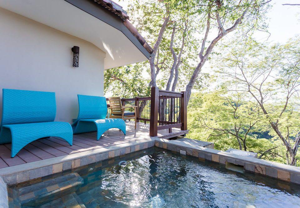 tree swimming pool property Villa cottage backyard Resort
