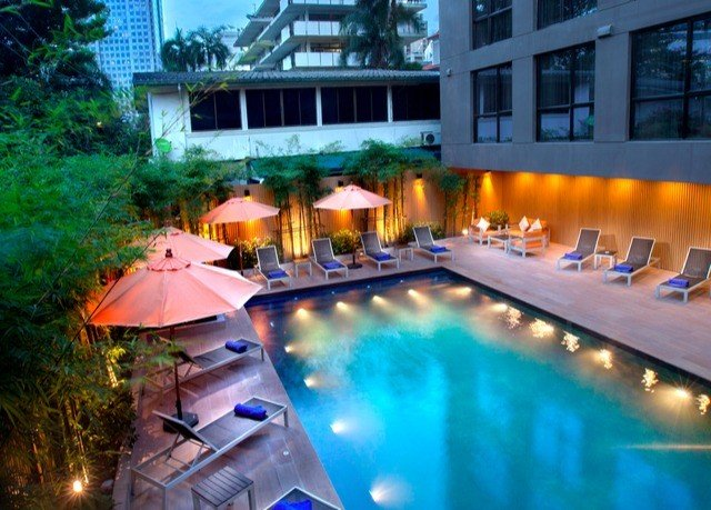swimming pool property leisure Resort Villa backyard eco hotel