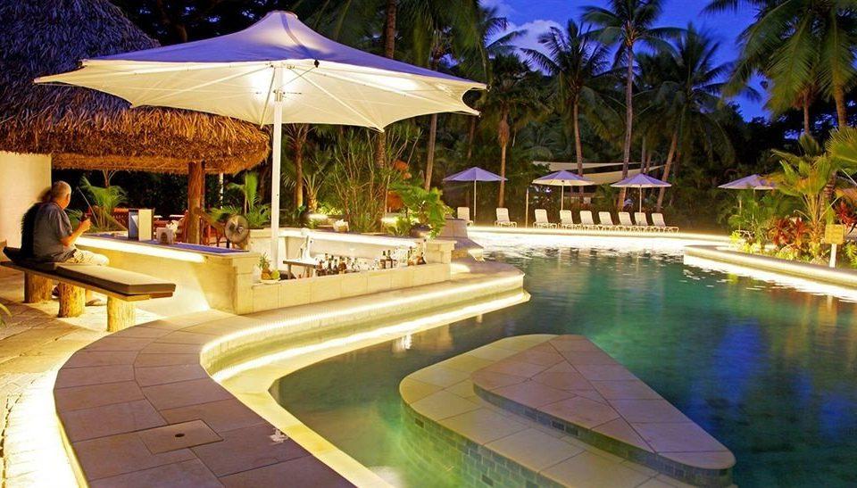 tree umbrella leisure swimming pool Resort Villa eco hotel backyard hacienda