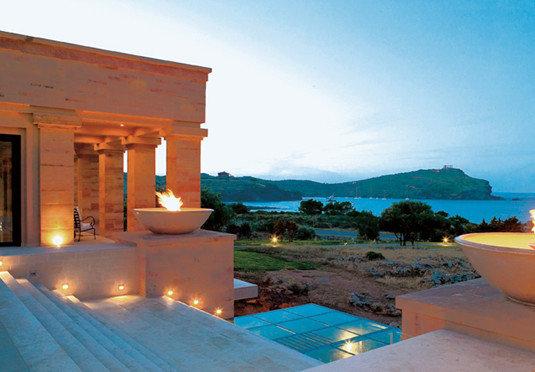 sky swimming pool property house Villa Resort home hacienda mansion backyard