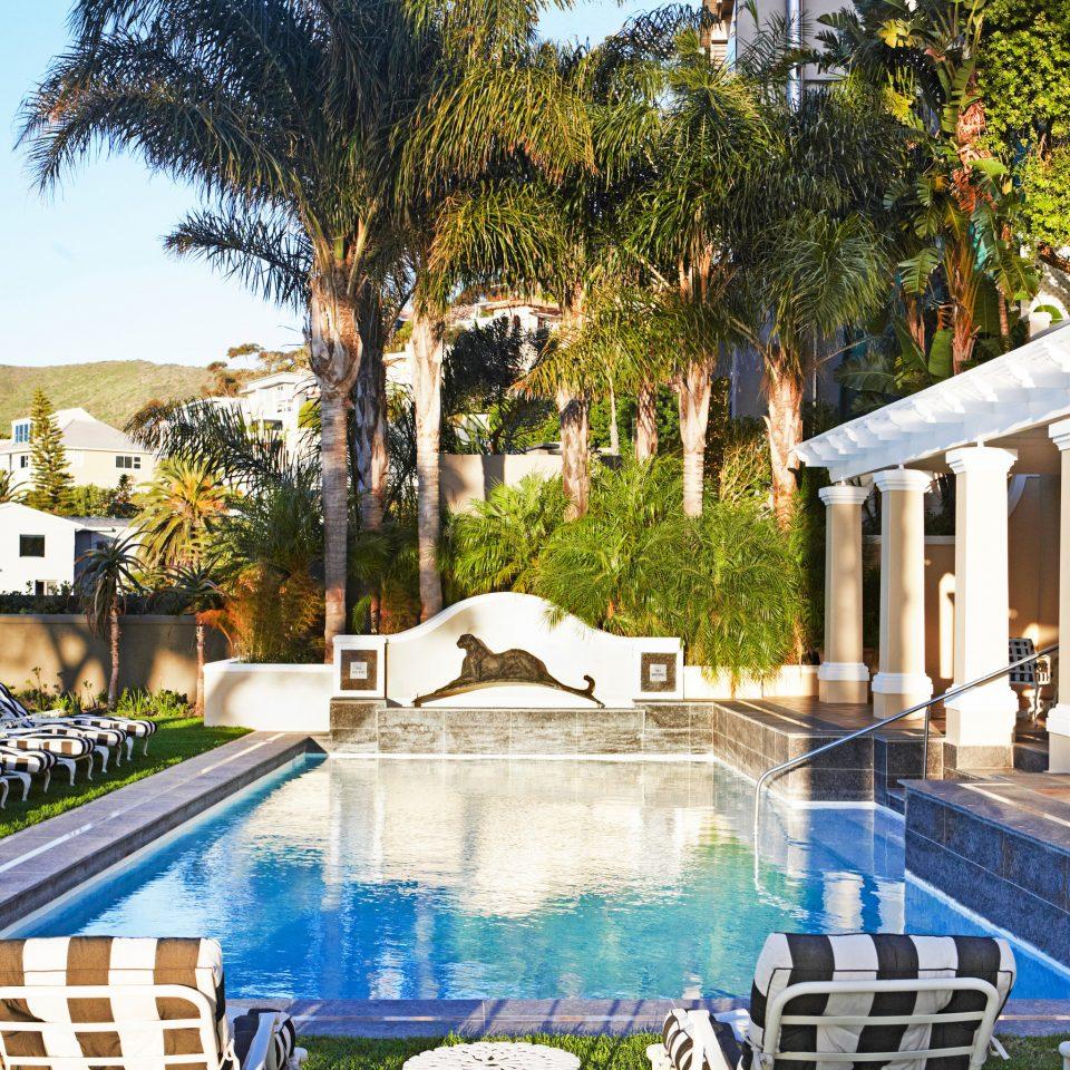 tree swimming pool leisure property Resort mansion plaza Villa home backyard palace hacienda