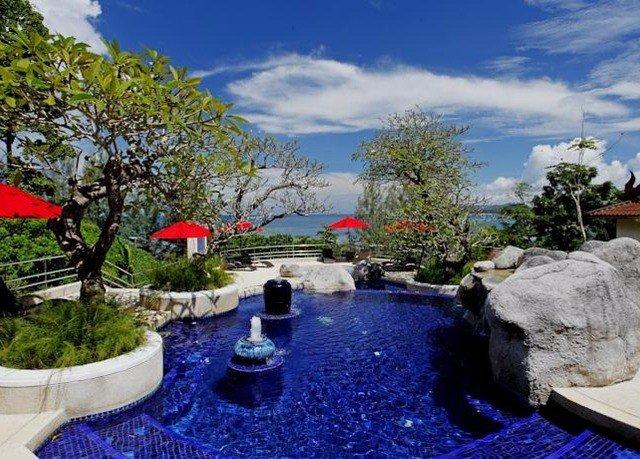 sky tree property swimming pool Resort home Villa backyard mansion