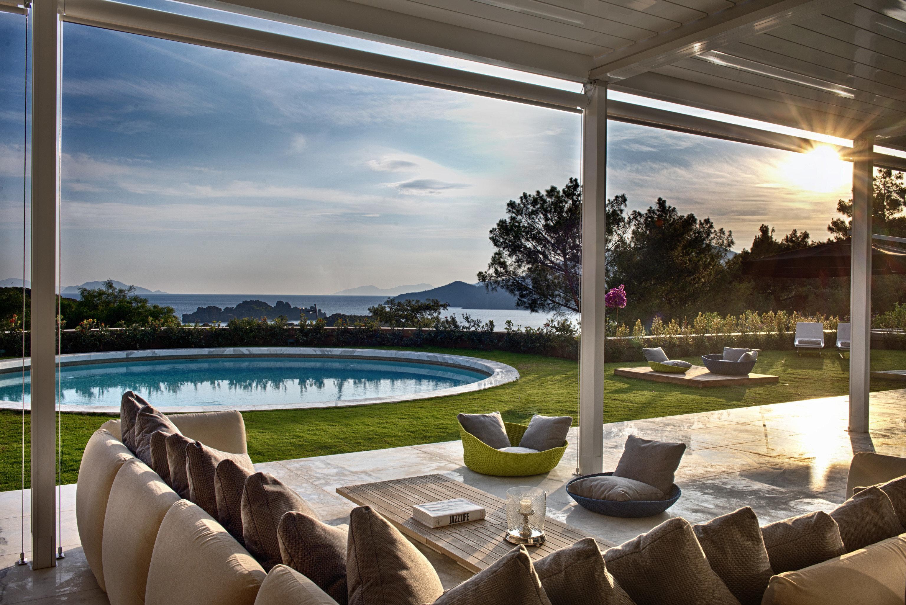 property swimming pool home backyard Villa Resort outdoor structure overlooking