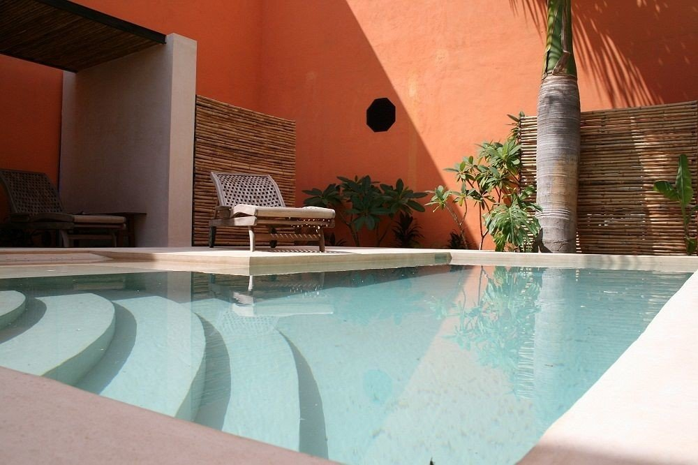swimming pool property jacuzzi backyard Villa Resort