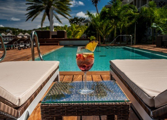 tree swimming pool property leisure Resort Villa backyard