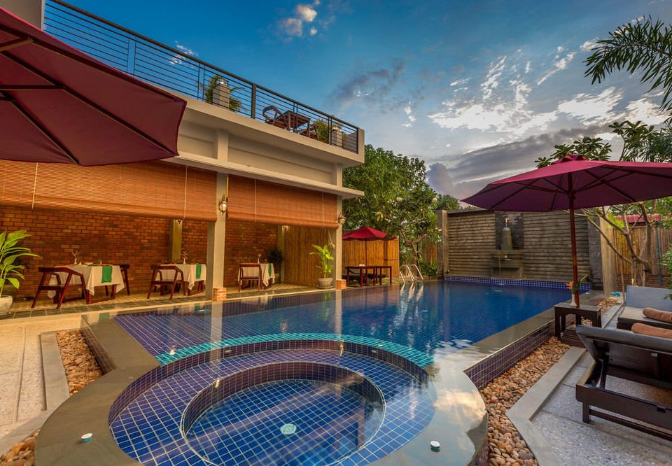 swimming pool leisure property Resort Villa backyard