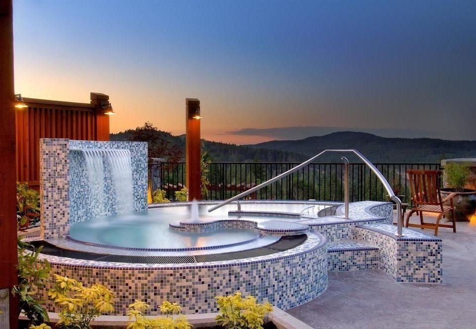 sky swimming pool leisure property Resort Villa backyard