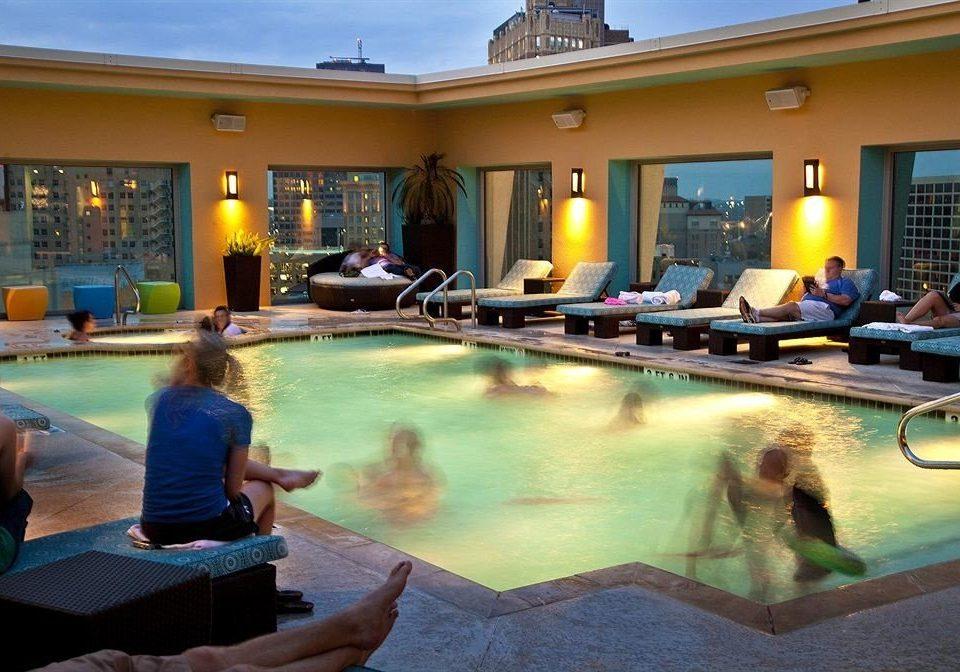 leisure swimming pool property Resort Villa backyard