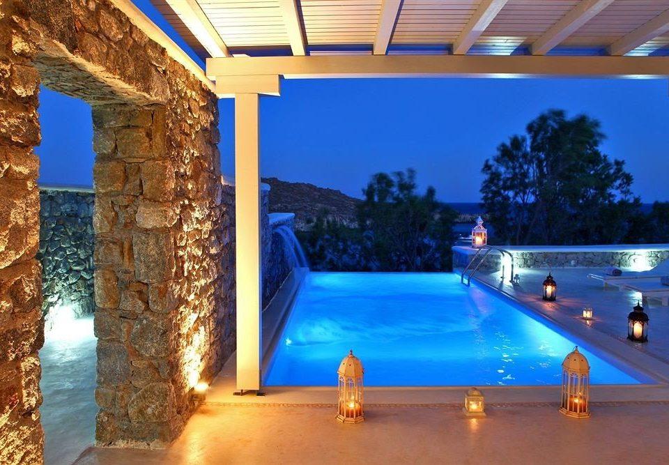 swimming pool property Resort Villa backyard