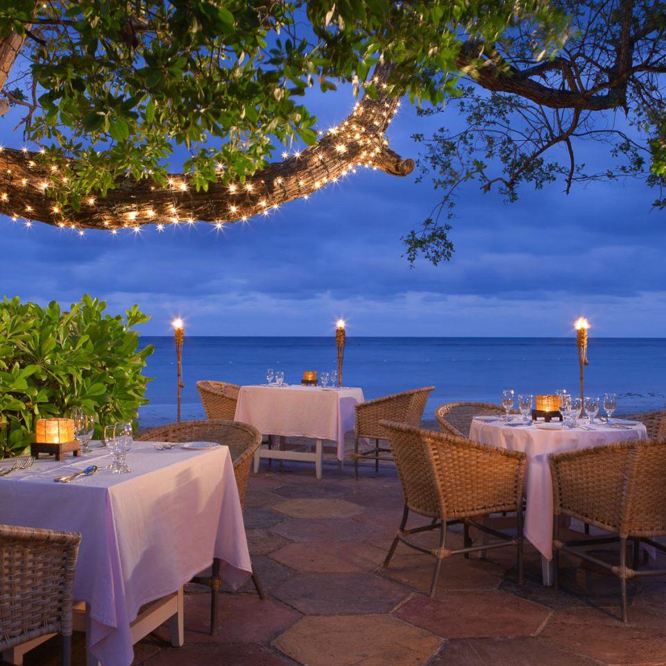 tree Resort Villa restaurant backyard