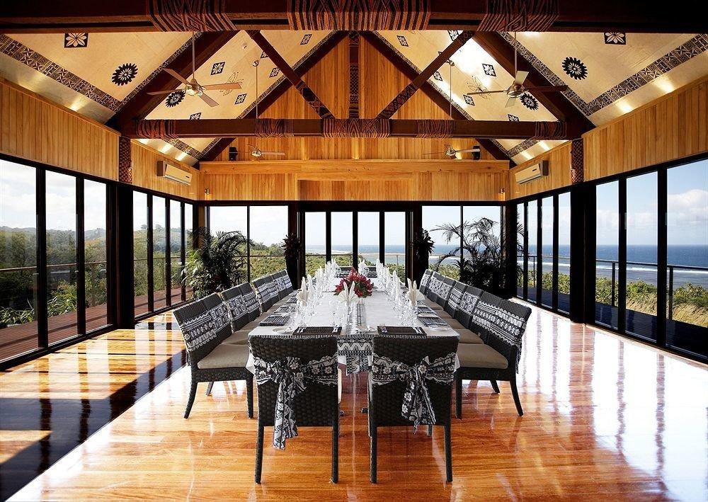 Resort wooden function hall restaurant Villa ballroom