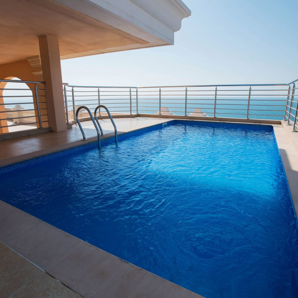 swimming pool building property leisure Resort Villa blue
