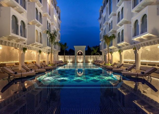building swimming pool property Resort mansion blue thermae palace Villa resort town condominium